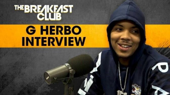 G Herbo on The Breakfast Club