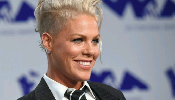"P!nk Performs ""What About Us"" On GMA"
