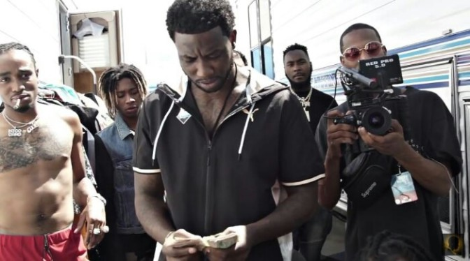 "(Video) Gucci Mane ""Back On"""