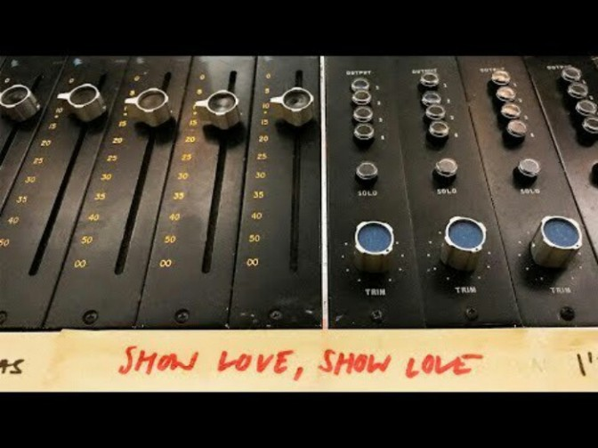 "Everything Is Recorded Feat. Syd & Sampha ""Show Love"""