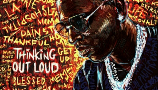 """Young Dolph Reveals Artwork & Tracklist For """"Thinking Out Loud"""""""