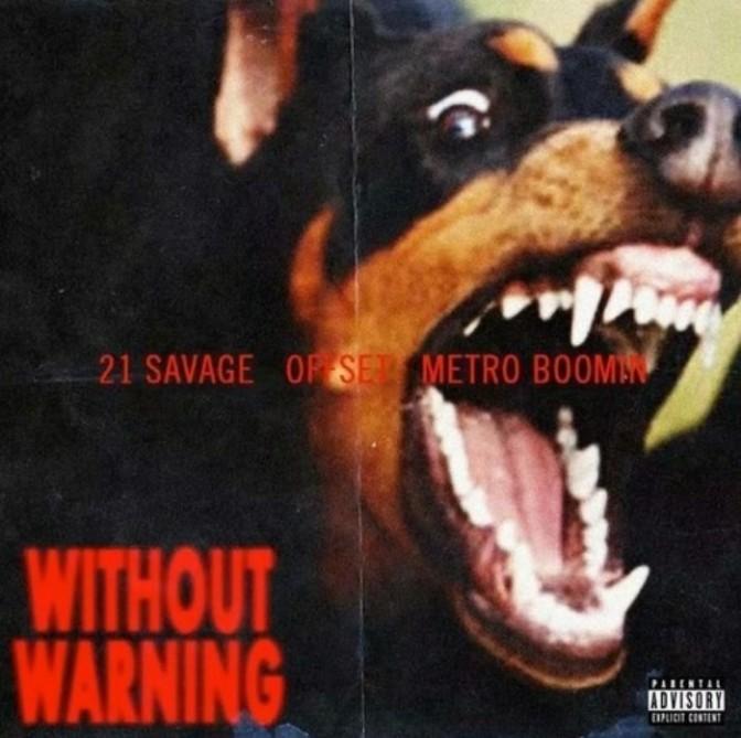 "21 Savage, Offset & Metro Boomin Feat. Travis Scott ""Ghostface Killers"""