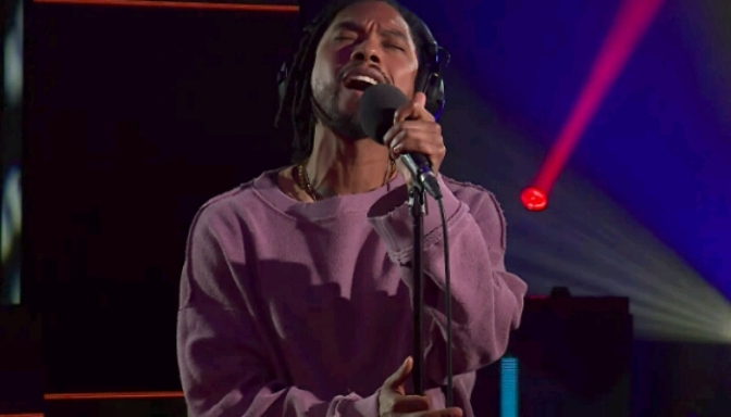 Miguel Performs For BBC Radio 1Xtra's Live Lounge