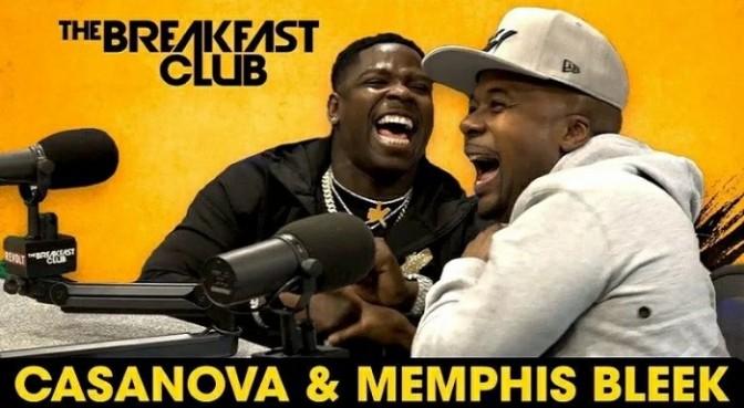 Casanova & Memphis Bleek On The Breakfast Club