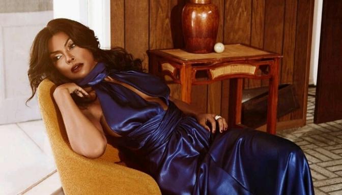 Taraji P. Henson Covers Rhapsody Mag