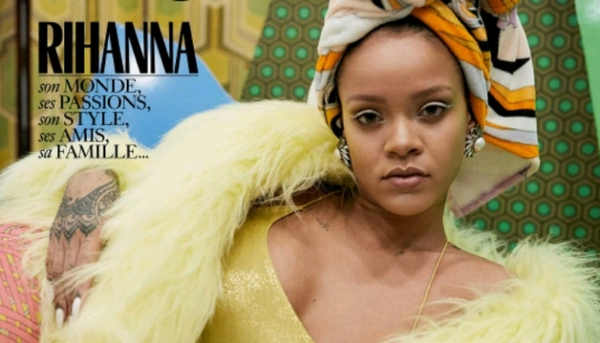 Rihanna Named Guest Editor For VOGUE Paris