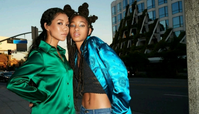 Jhene Aiko & Willow Smith For BILLBOARD
