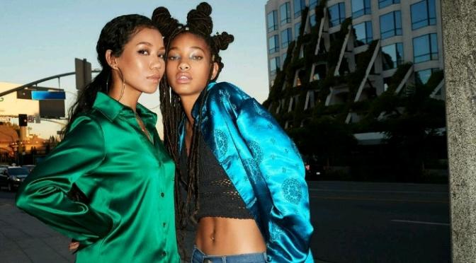 Jhene Aiko & Willow Smith For BILLBOARD