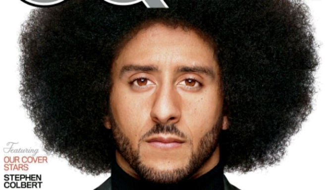 "Colin Kaepernick Is GQ's First 2017 ""Man Of The Year"""