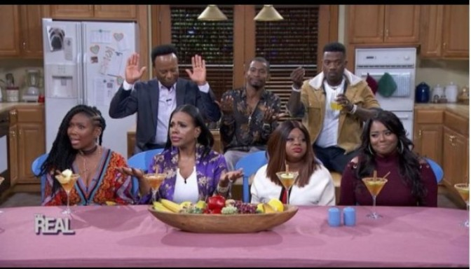 The Cast of Moesha Reunites On The Real Daytime
