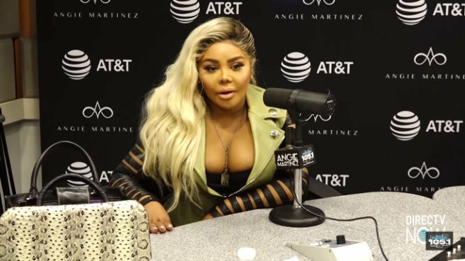 Lil Kim On The Angie Martinez Show