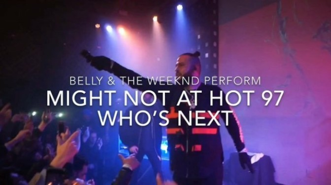 Belly Brings Out The Weeknd at SOB's