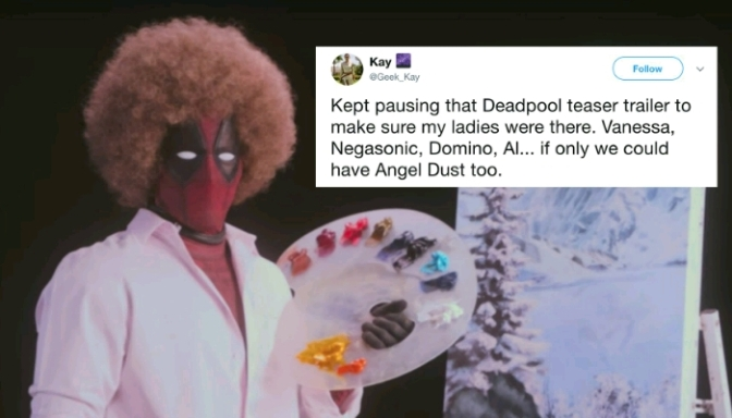 "Peep the Deadpool ""Wet on Wet"" Teaser"