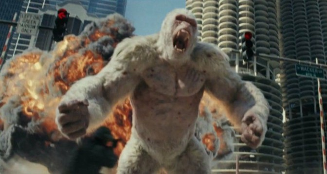 "(Trailer) ""Rampage"" Starring Dwayne Johnson"