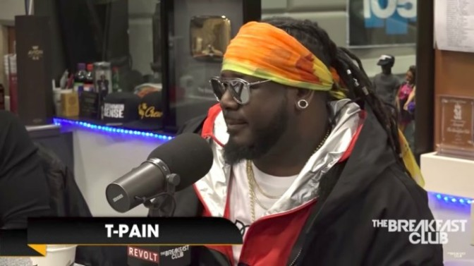 T-Pain On The Breakfast Club