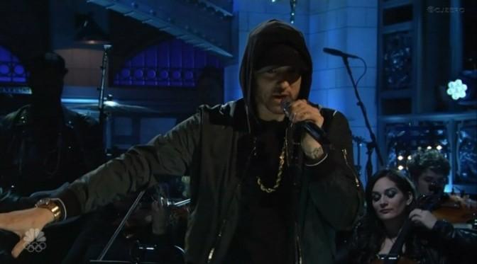 Eminem Performs EPIC Medley On SNL