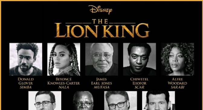 """Donald Glover & Beyonce To Voice Simba & Nala In Upcoming """"The Lion King"""" Film"""