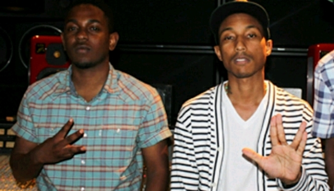 "(Snippet) N.E.R.D. Feat. Kendrick Lamar & MIA ""Kites"""