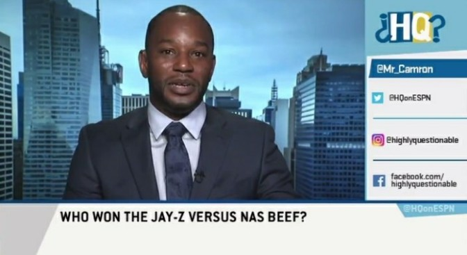 "Cam'Ron On ESPN's ""Highly Questionable"""