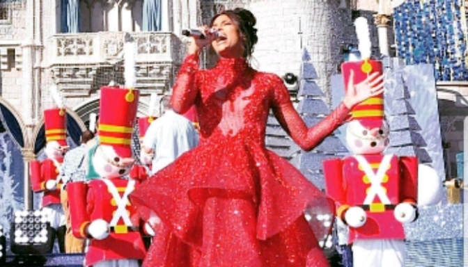 Ciara Performs at Disneyland