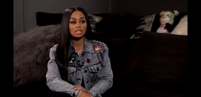 Blac Chyna Discusses Her New Career as a Rapper