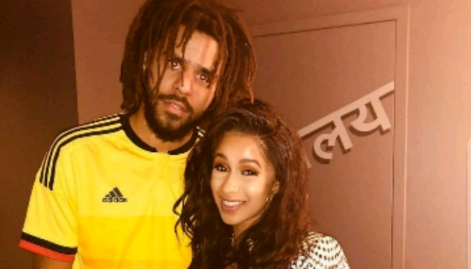 J. Cole Gives Cardi B Advice