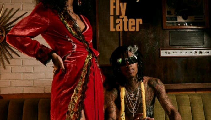 """Wiz Khalifa Reveals Artwork For """"Laugh Now, Fly Later"""""""