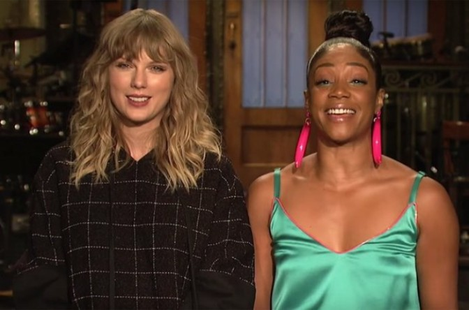 Tiffany Haddish & Taylor Swift Star In SNL Promo
