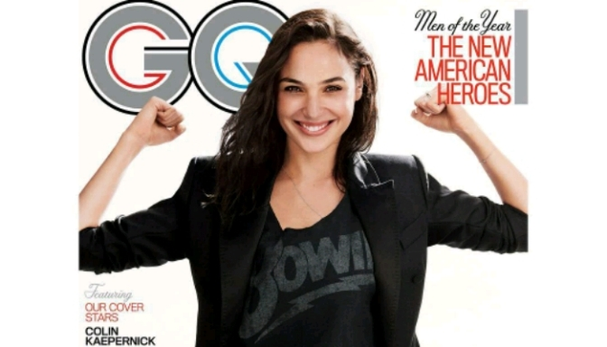 "Gal Gadot Named GQ ""Woman Of The Year"""
