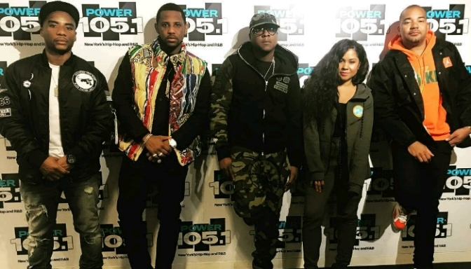 Fabolous & Jadakiss On The Breakfast Club