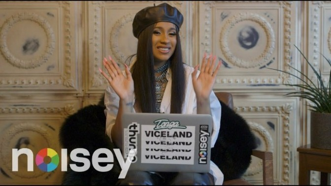 """Cardi B Responds to Your Comments on """"Bodak Yellow"""""""