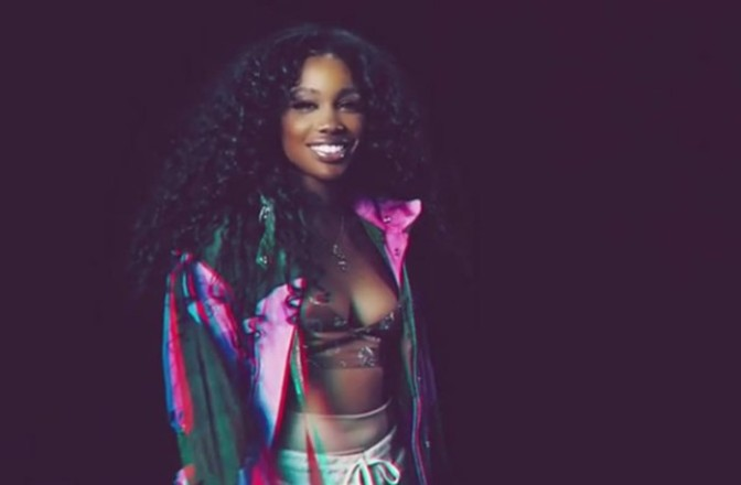 SZA Performs On Saturday Night Live