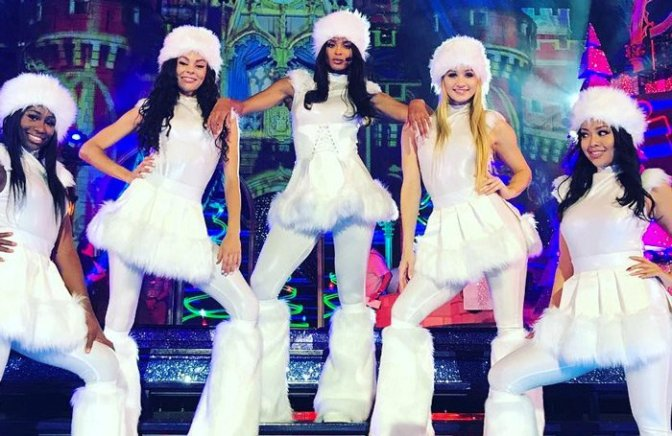 Peep Ciara's Wonderful World of Disney Christmas Performance