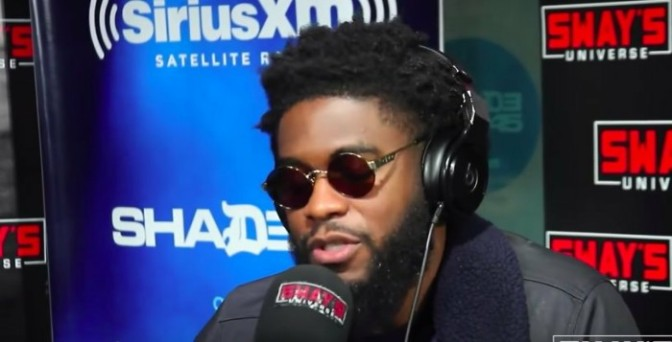 BIG K.R.I.T. Freestyles On Sway In The Morning