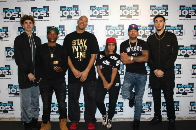 Lavar Ball & Sons On The Breakfast Club