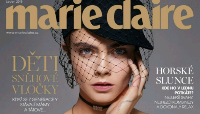 Cara Delevingne Covers Marie Claire