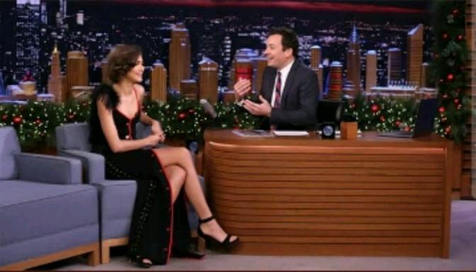 Zendaya On The Tonight Show