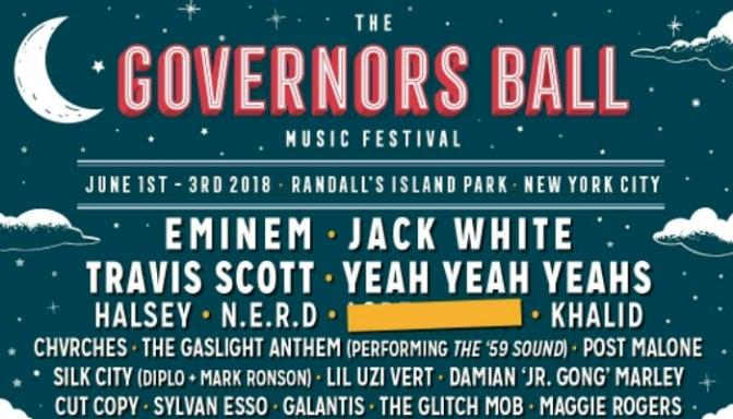 """Eminem, Travis Scott & N.E.R.D. To Headline """"Governors Ball"""""""