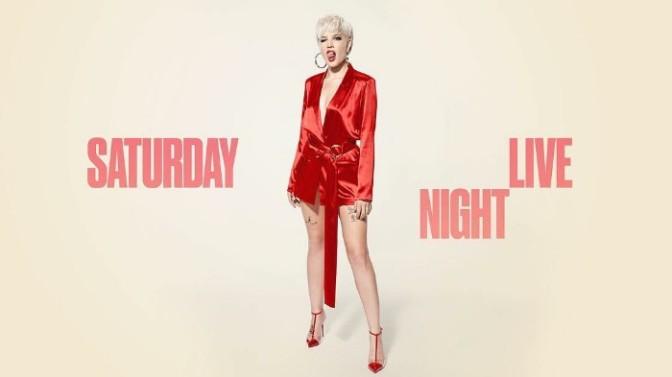 Halsey Performs on SNL