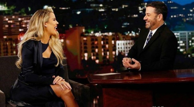 Khloe Kardashian On Kimmel
