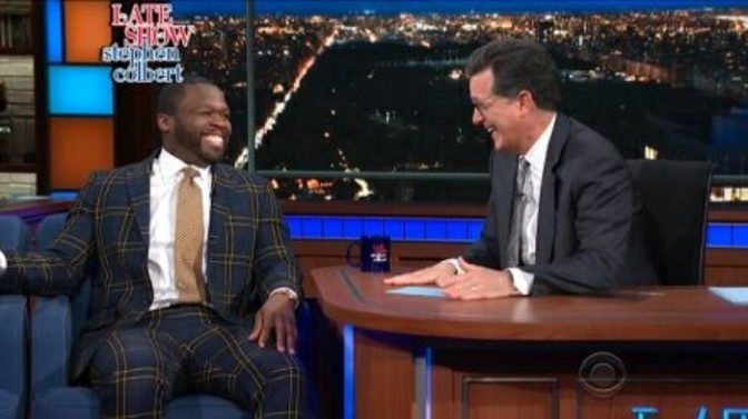 50 Cent On The Late Show