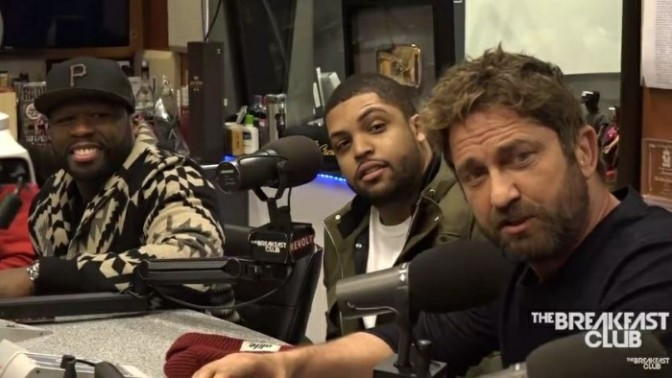 Den of Thieves Cast On The Breakfast Club