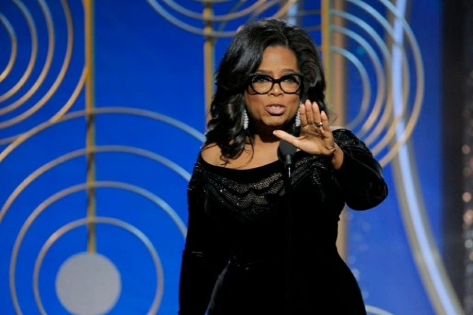 Oprah's Golden Globes Speech Is NOW On Spotify