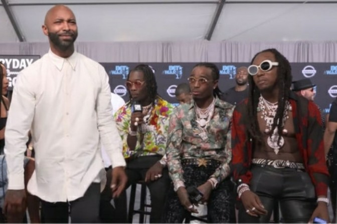 Migos Show Love to Joe Budden