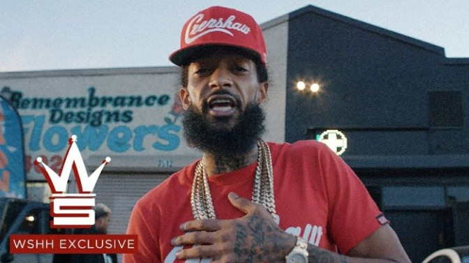 """(Video) Nipsey Hussle """"Grinding All My Life / Stucc In The Grind"""""""