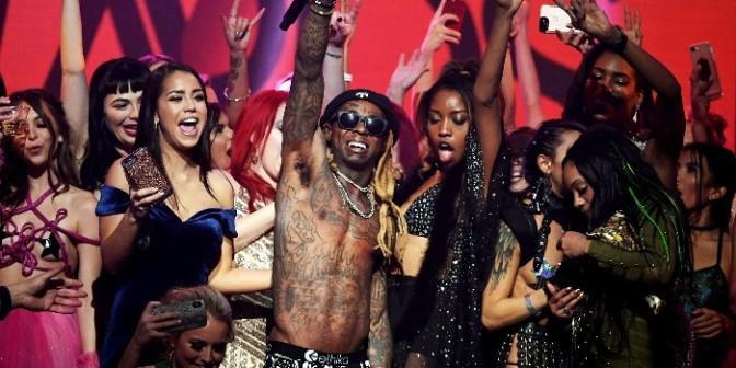 Lil Wayne Performs at 2018 AVN Awards