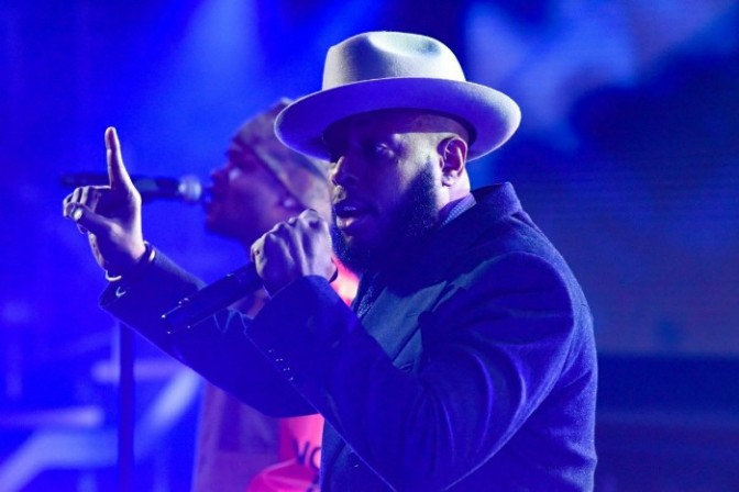 "Talib Kweli & BJ The Chicago Kid Perform ""The One I Love"" on The Late Show"
