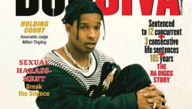 A$AP Rocky Covers Don Diva Magazine