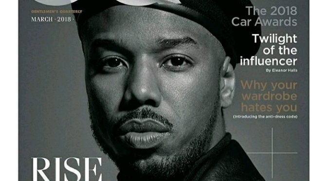 Michael B. Jordan Covers British GQ