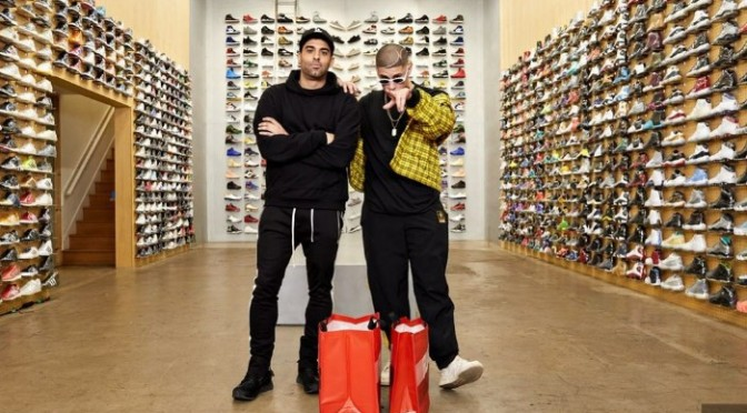 Bad Bunny Goes Sneaker Shopping With COMPLEX